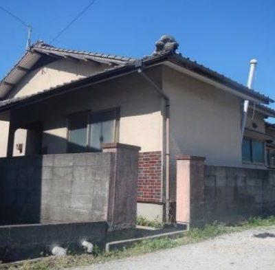 【売買】300万円 筑後市熊野 小中学校が徒歩圏内にある井戸・車庫付き平屋