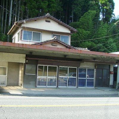 【売買】500万円 武雄市大字武雄 国道沿いで1階が土間店舗スペースの多目的2階建て住宅